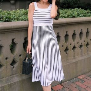 Banana Republic Striped Knit Dress